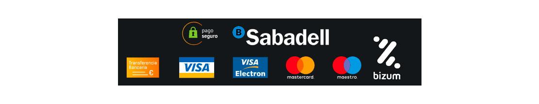 Pago seguro mediante Redsys con el Banco de Sabadell